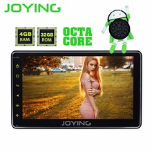 JOYFORWA Android 8.0 universal 4GB 7 inch Car Radio Octa Core head unit GPS system Autoradio steering wheel control with carplay