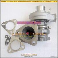 Gratis Schip TD04 49177-01510 49177-01511 MD094740 Olie Koel Turbo Voor Mitsubishi SHOGUN Delica Pajero L200 L300 4D56 DE 4D56T 2.5L