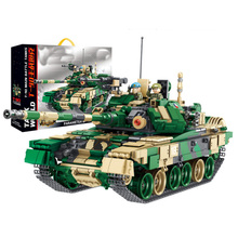 1773pcs 632005 Military T-90 Main Battle Tank With Swat Minifigure Model Sets Building Blocks Bricks Toys For Kids Gift trumpeter rising soviet t 62 main battle tanks in 1962 00376