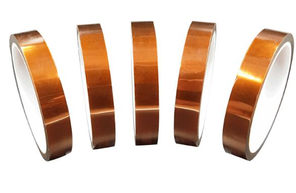 Lithium battery insulation tape 33Mx3-50mm Meter Heat Resistant Polyimide Tape High Temperature Adhesive Insulation Kapton Tape