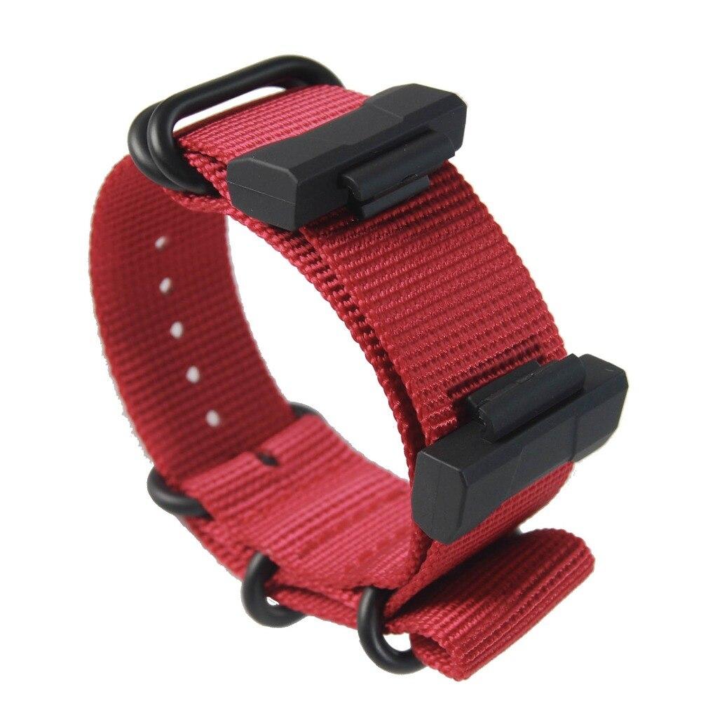 Jeu de bornes pour casio G-SHOCK/GD/GA-110 120 400 GA-700 + bracelet Nylon bracelets de montre