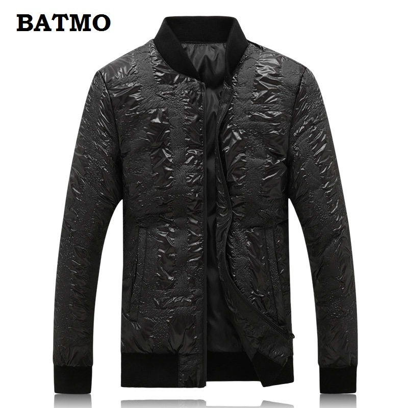 Batmo 2018 new arrival winter high quality 90% white duck   down   black jackets men,men's winter warm   coat  ,plus-size M-5XL 18861