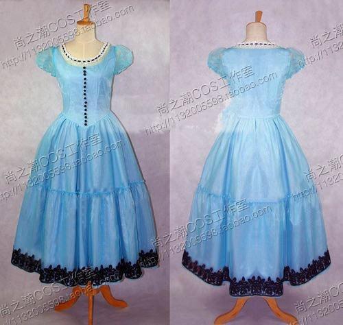blue alice dress - Dress Yp