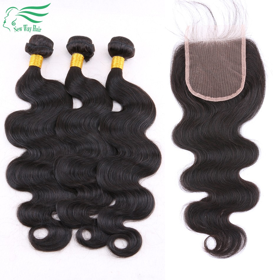 bw lace closure with bundles 1