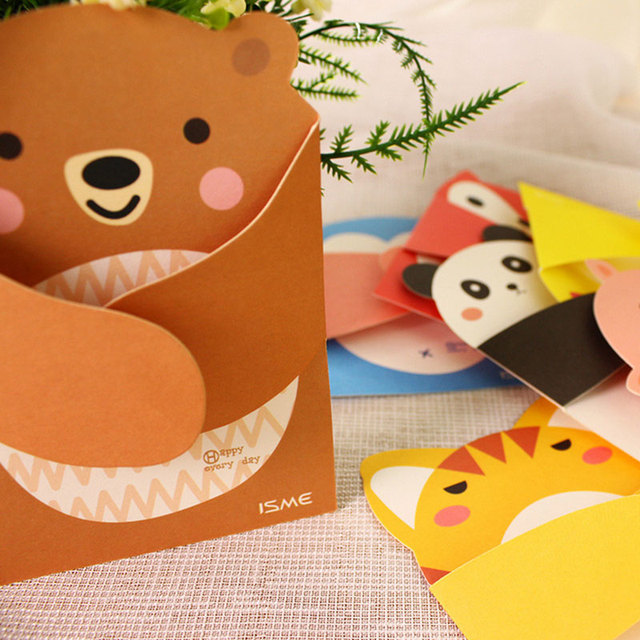 Fun Loving 3D Animal Birthday Cards
