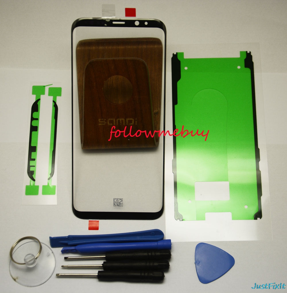 For Samsung Galaxy S S8 S9 Plus S8+ S9+ Note 8 9 S10e Front Screen LCD Glass Lens Outer Glass Repair Replacement