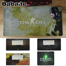 Babaite Cool New CS GO gaming Comfort Mouse Mat Gaming Mousepad Locking Edge Mousepad Mat Keyboard Mat Table Pad tecknet gaming office mouse pad mat ergonomic mousepad build in soft sponge with gel rest wrist support