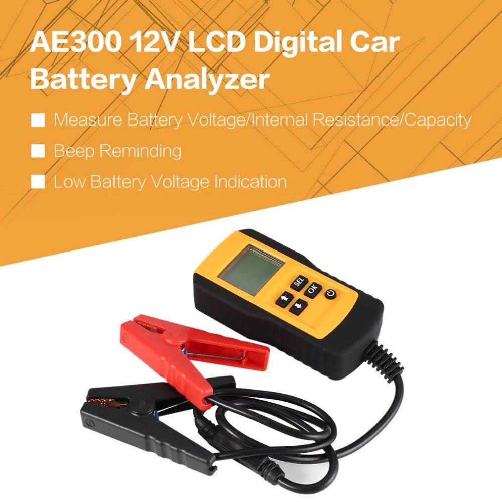 AE300 12V LCD Digital Car Battery Auto System Analyzer Automotive Vehicle Batter