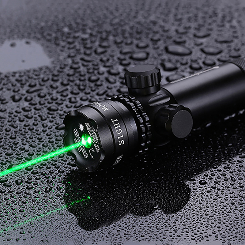 2017 Hot Green Red Dot Hunting Tactical Laser Mount Laser Sight Rifle Scope 20mm Rail & Barrel Mount Cap Pressure Switch