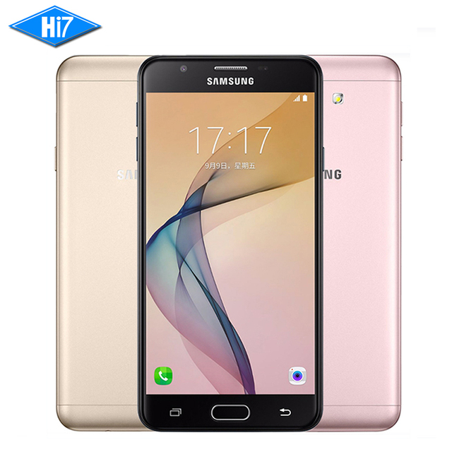 """Новый Оригинальный Samsung Galaxy On7 G6100 2016 5.5 """"3300 мАч 3 ГБ RAM 32 ГБ ROM 13MP Octa ядро 4 Г LTE Отпечатков Пальцев Dualsim Мобильный телефон"""
