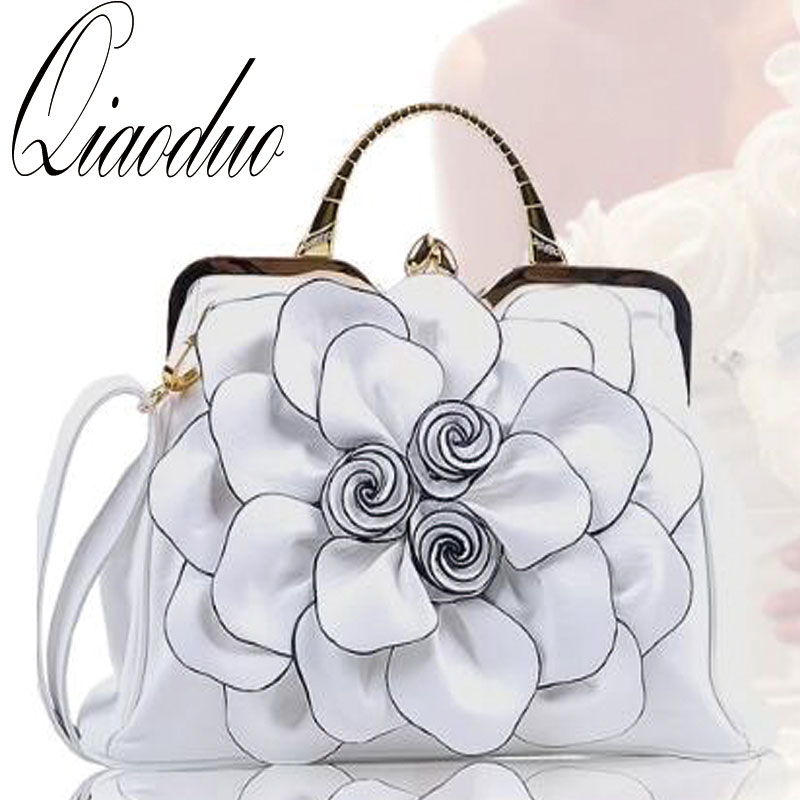 Bandoulière Floral Nationale À Green Féminine Grey Main Pu Sac White pink orange rose S6285 light Élégant Mode Vent grass Solide red Qiaoduo Red cYwPpqEP