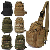Best Deal Outdoor Sports Nylon Tactical Military Sling Single Shoulder Chest Bag Pack Camping Hiking Backpack