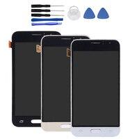4 5 Black White Gold For Samsung Galaxy J1 J120 J120F J120M J120H LCD Display Digitizer