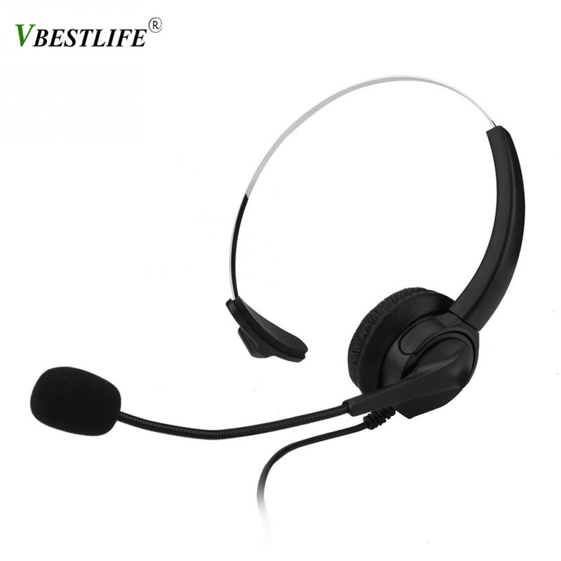 2 5mm Telephone Headset Call Center Operator Monaural Headphone Customer Service Ordinary Landline Voice Call Chat Headphones Buy At The Price Of 12 27 In Aliexpress Com Imall Com