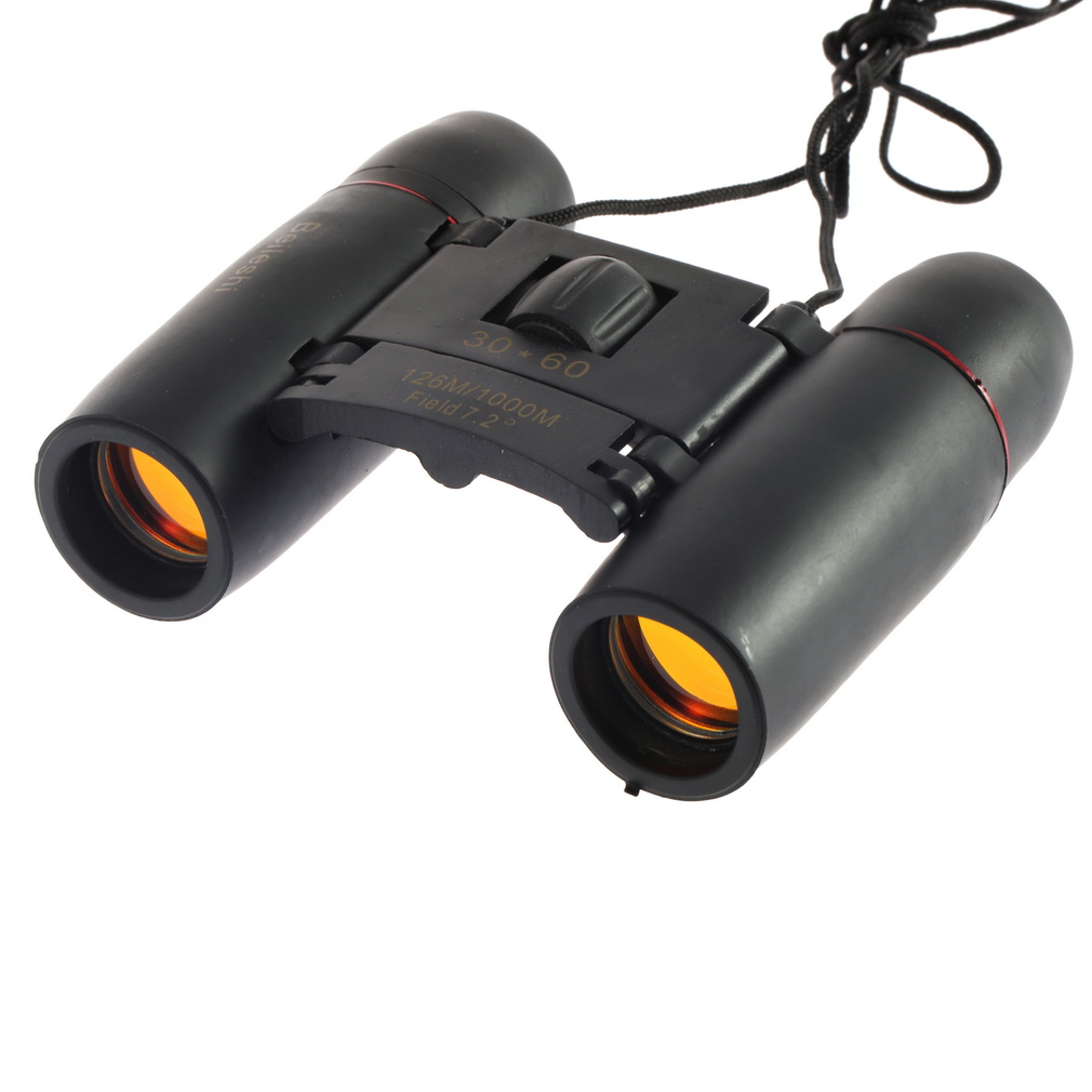 Good deal 30 X 60 Zoom Mini Compact Binocular Telescope 126m To 1000m Day And Night Vision image