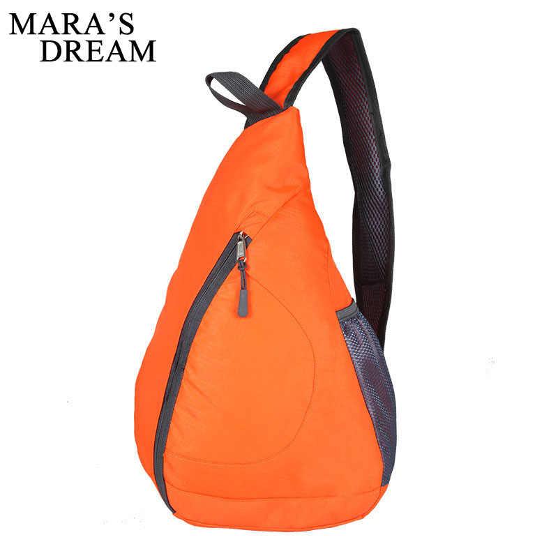 5375fea7371 ... Mara s Dream Nylon Men Women Single Shoulder Strap Bag Fashion Crossbody  Bag Unisex Messenger Chest Pack ...