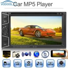 VODOOL 6.2in TFT Screen Bluetooth In-dash Car Stereo MP5 Player AUX FM Radio DVD Hands-free Calling For IPod IPhone 6 Or Below