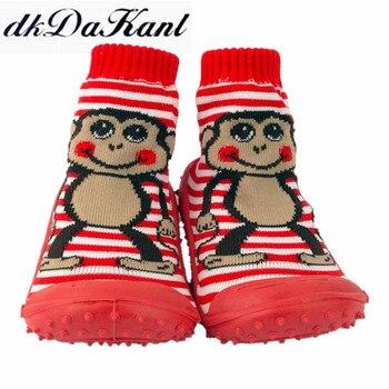 Kaymaz Ayakkabı Rahat kat çorap Çocuklar Için Bahar Yenidoğan Kauçuk Tabanı ile Bebek Çorap kat çorap Bebek Yenidoğan Bahar
