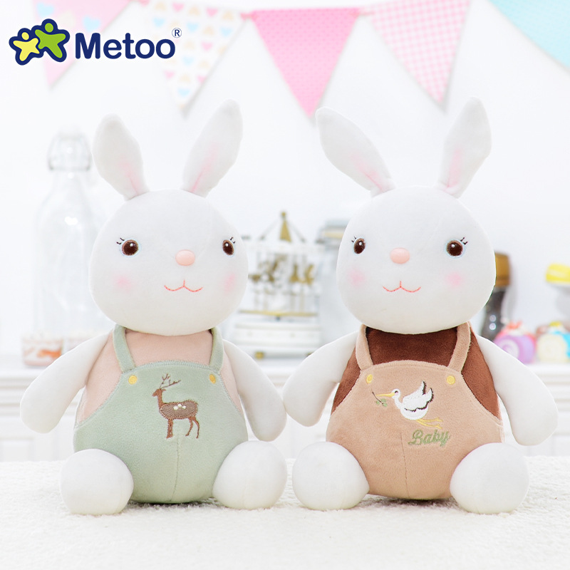 11 Inch Plush Cute Stuffed Small Brinquedos Baby Kids Toys for Girls Birthday Christmas Gift Bonecas Tiramitu Rabbits Metoo Doll 13 inch kawaii plush soft stuffed animals baby kids toys for girls children birthday christmas gift angela rabbit metoo doll