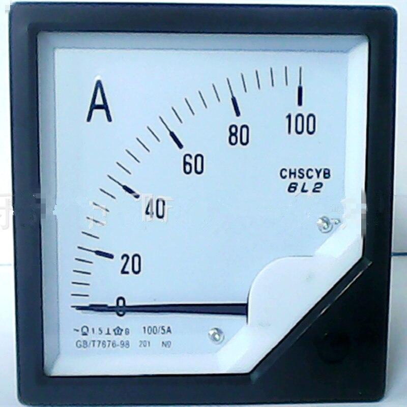 Pointeur Analogique Ampèremètre Ampèremétrique compteur testeur de moniteur Panneau 30A 75A 100A 150A 250A 300A 400A 500A 600A 750A