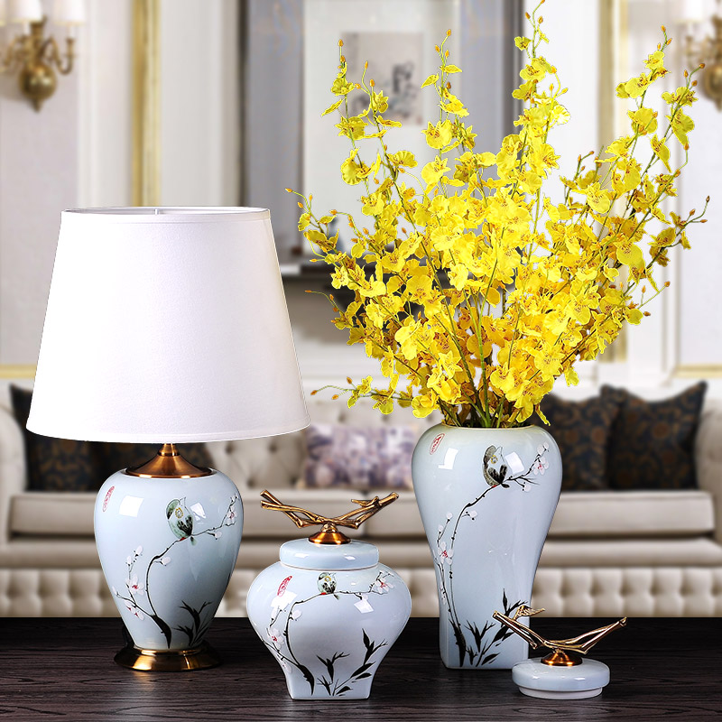 modern Neo Classical ceramic vase ornaments Home Furnishing jewelry living room TV cabinet decoration room decorationmodern Neo Classical ceramic vase ornaments Home Furnishing jewelry living room TV cabinet decoration room decoration