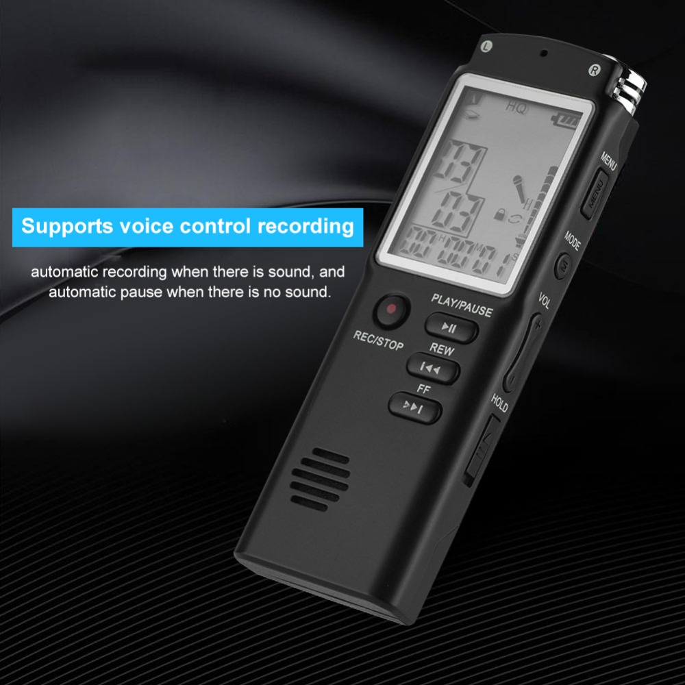 16GB 8GB Voice Recorder USB Professional 96 Hours Dictaphone Digital Audio  Voice Recorder Telephone Recording WAV,MP3 Player HAMED