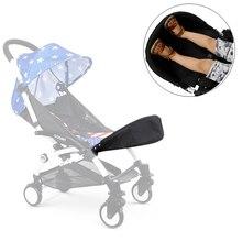 Carrinho de bebê acessórios para babyzen yoyo yoya 32 cm pé resto pés extensão infantil carrinho de bebê footmuff acessório