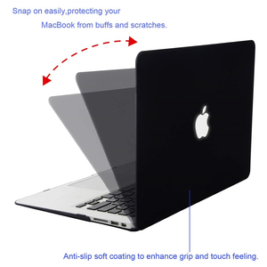 Image 3 - MOSISO new Crystal/Matte Case For Apple Macbook Pro Retina 13 15 inch Laptop Bag,For New Pro 15 With Touch Bar A1707 A1990 A1398