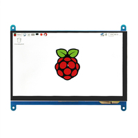 Raspberry Pi 2 LCD Touch Screen Display 7 Inch TFT Monitor With Touchscreen Kit HDMI