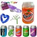 Cristal Baba DIY dibujar barro burbujas transparente Baba no-tóxico/magnético Handgum Polyer arcilla creativa chico niños divertido juguete