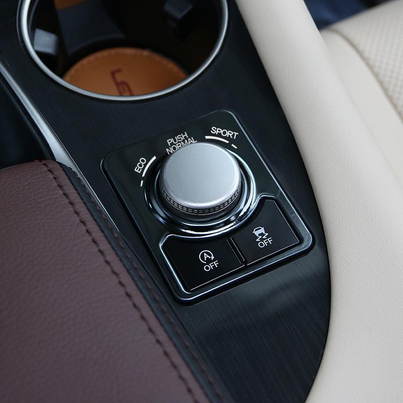 automobile car styling accessories chromium RX200t 450h 16 decorative film knob sequins interior modified FOR Lexus RX series automobile 1 p stalls sequins decorative stickers car accessoires for mazda cx 5