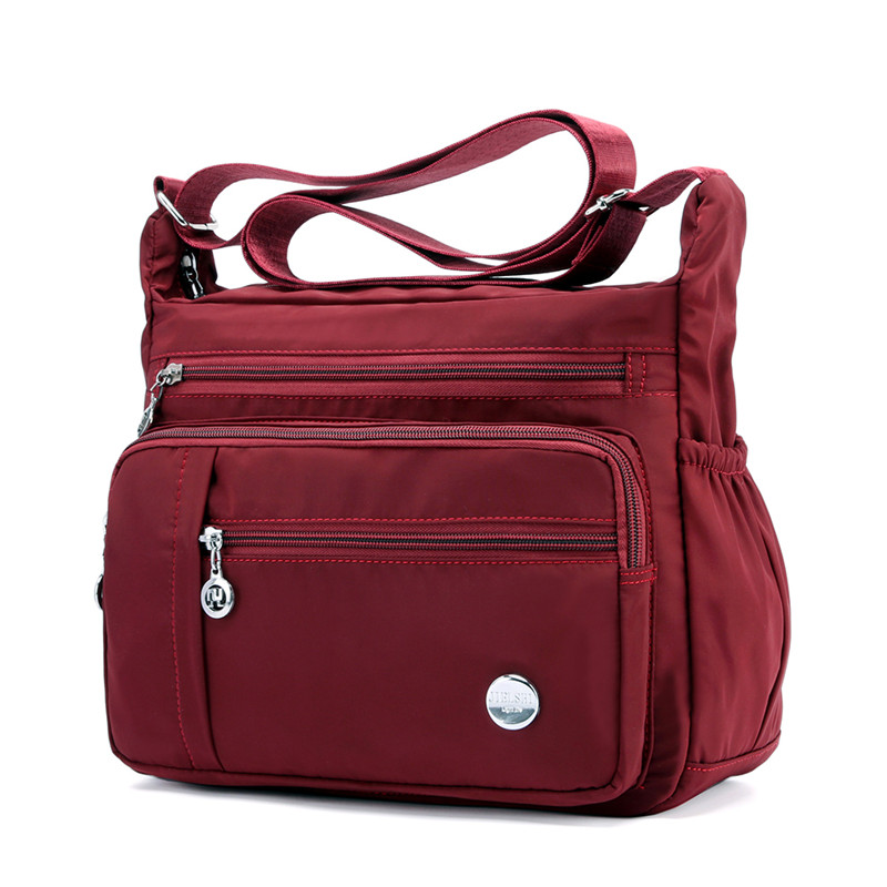 Grandi Black Wine Blue E Piccoli Crossbody Large large Dark Borse Spiaggia large Due Nylon Borsa Stili Delle Donna Red Black À Sac small small small Purple Blue large Purple Donne Viaggio Wine Di Signore Red large Messenger Main Bag Rose small Red Spalla rArFwBq
