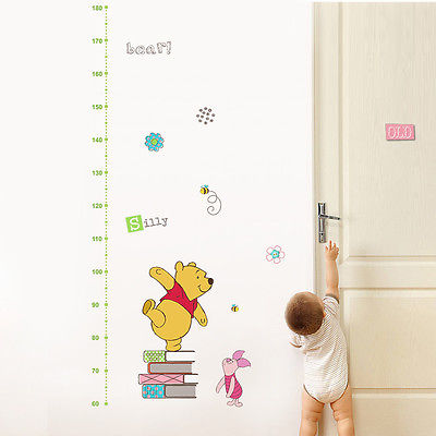 Winnie The Pooh Muursticker.Winnie De Pooh Muursticker Leuke Muurtattoo Diy Vinyl