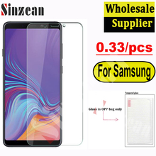 100pcs For Samsung A01/A11/A21/A31/A41/A51/A61A/71 5G/A81/A91/S20 FE 5G/F62 /A32/A52 2.5D Clear Tempered Glass Screen Protector