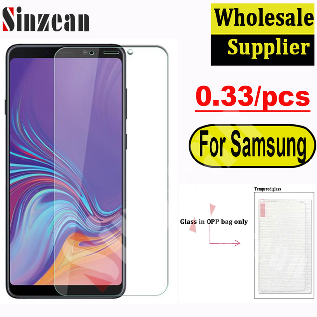 100pcs For Samsung A10/A10E/A20/A20E/A30/A40/A50/A60/A70/A80/A90/M10/M20/M30/M40 2.5D Clear Tempered Glass Screen Protector