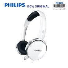 سماعة رأس ستيريو احترافية من فيليبس SHM7110U بطول 2 متر مع ميكروفون للتحقق الرسمي من شاومي MP3