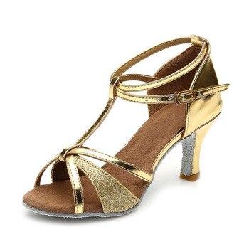 75d2d87947 women Latin dance shoes new brand girls women's Ladie's latin ballroom  tango salsa dance shoes about 5cm and 7cm heel wholesale