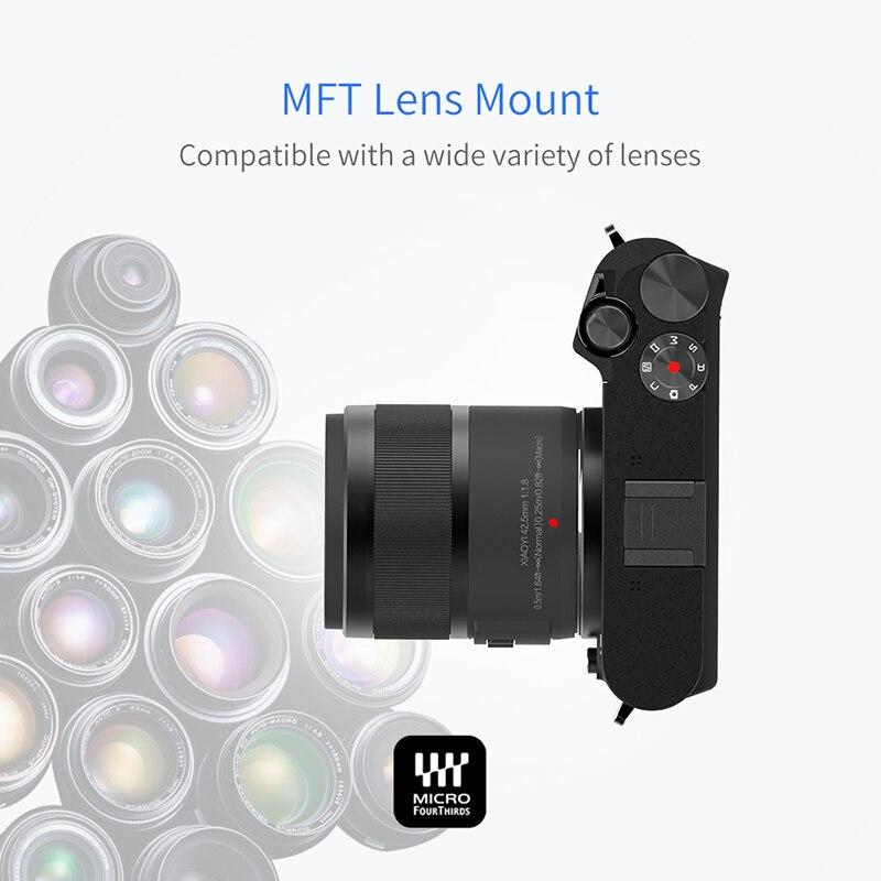 YI M1 Айнадай сандық фотокамерасы Prime Zoom - Камера және фотосурет - фото 6