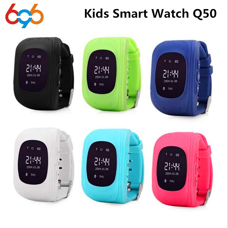 696 Q50 GPS Smart Kid Safe Smart Watch SOS Call Location Finder Locator Tracker for Child Anti Lost Monitor Baby Wristwatch