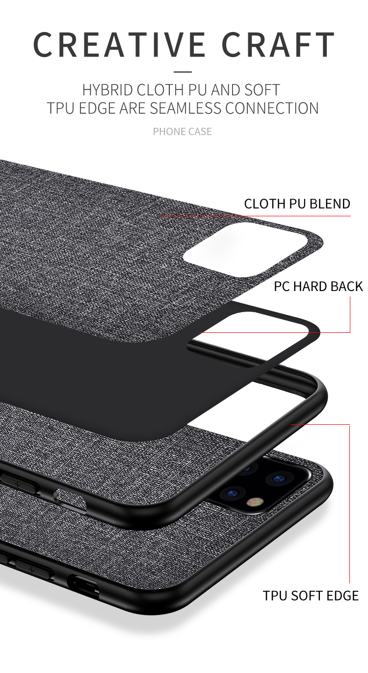 Joliwow Fabric Case for iPhone 11/11 Pro/11 Pro Max 4