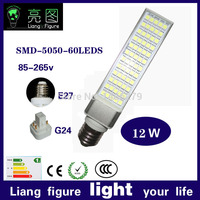 wholesale 12W SMD 5050 leds AC85 265 led indoor lamparas led corn bulb led lamp white warm white bombillas