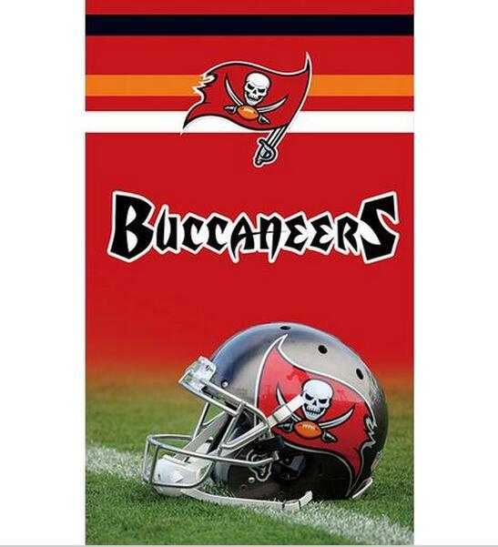 №3ftx5ft Tampa Bay Buccaneers bandera 100d poliéster banner impreso ...