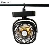 Kbxstart Multi funktion Camping Fan 360 Grad Ratating mit Hängenden Haken Nacht Licht Mini Luftkühler Geräuscharm Fan für Outdoor-in Ventilatoren aus Haushaltsgeräte bei