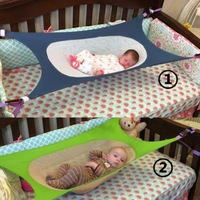 Folding Baby Crib Portable Beds Baby Folding Cot Bed Travel Playpen Hammock Crib White Blue Pink