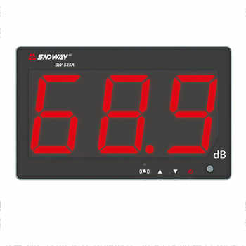 SNDWAY Digital Sound level meter 30~130db noise db meter measuring large screen hanging type Noise Decibel Monitoring Testers