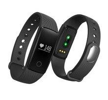 Smart Band сенсорный экран Bluetooth 4.0 Смарт-часы артериального давления сна монитор сердечного ритма шагомер браслет для iOS и Android