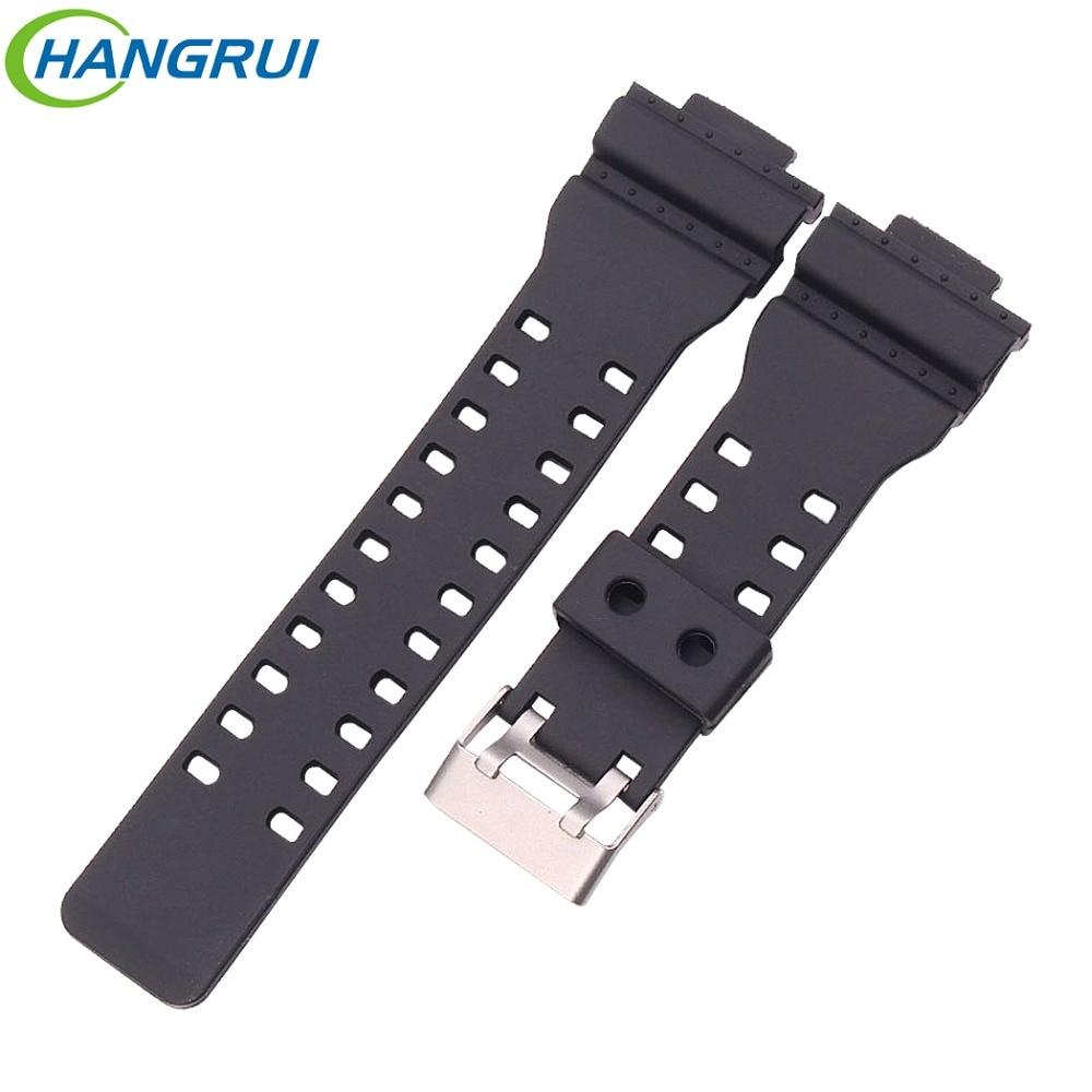 Hangrui Smart Wrist Band Watch Strap Rubber Bracelet For GR For GW For GA For GD Watch Straps Replacement Band Accessories