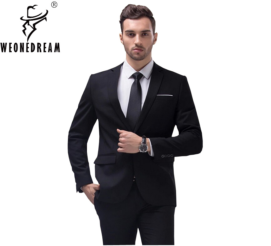 Suits & Blazers Blazers Friendly 2018 New Arrival Single Button Men Leisure Blazers Slim Fit Casual Suit Wine Red Navy Blue Blazer Dress Male Clothing M-4xl Unequal In Performance