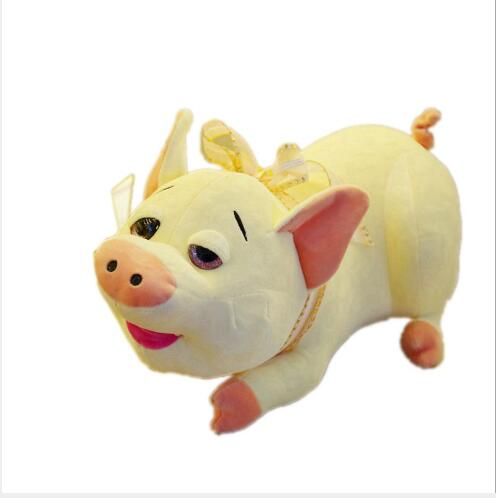 WYZHY New Year gift mascot down jacket sleeping pig doll plush toy home decoration send friends children 39 s gifts 30CM in Stuffed amp Plush Animals from Toys amp Hobbies