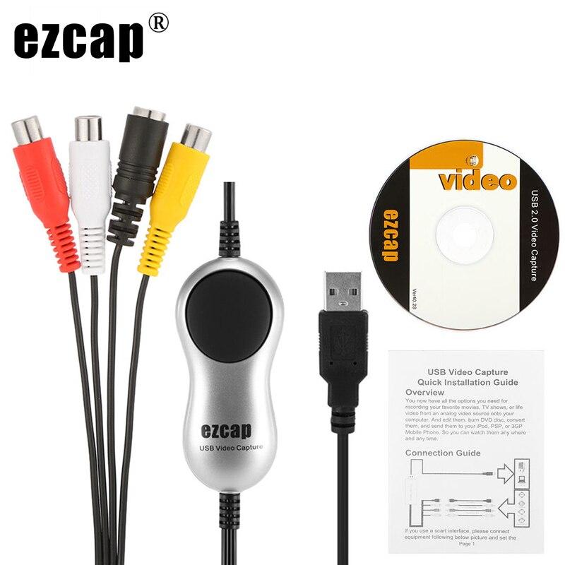 USB 2.0 8MM Video Band Kassette Video Erfassen Spiel TV Box Recorder Analog Video Audio zu Digital Format für Windows 7 8 10 Win10